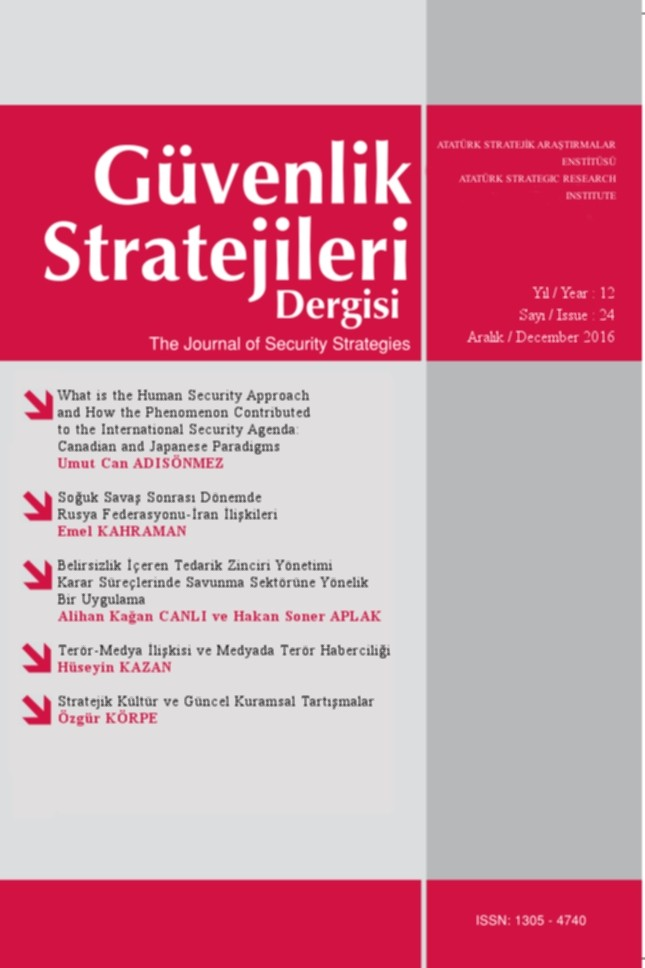 Güvenlik Stratejileri Dergisi