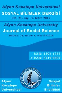 Afyon Kocatepe University Journal of Social Science