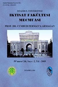 İstanbul Üniversitesi İktisat Fakültesi Mecmuası