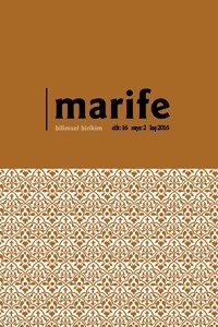 Marife Dini Araştırmalar Dergisi