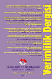 Verimlilik Dergisi