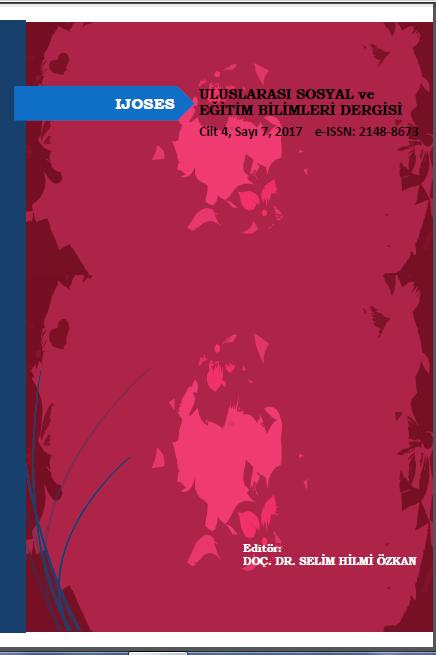 Uluslararası Sosyal ve Eğitim Bilimleri Dergisi