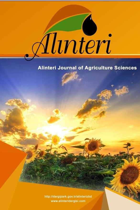Alınteri Zirai Bilimler Dergisi
