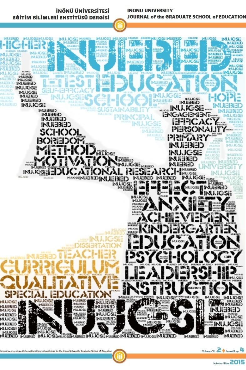 İnönü Üniversitesi Eğitim Bilimleri Enstitüsü Dergisi