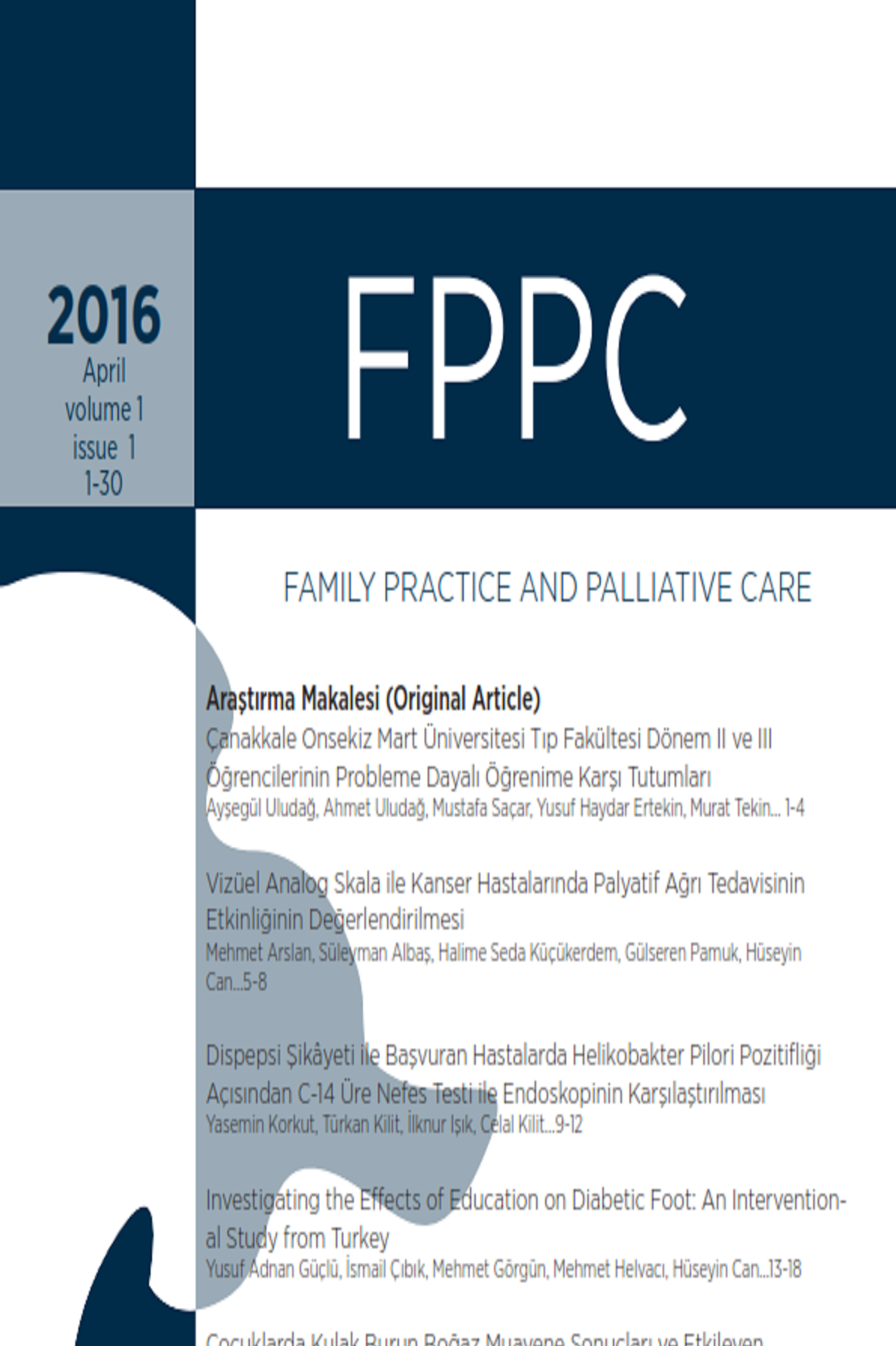 Aile Hekimliği ve Palyatif Bakım