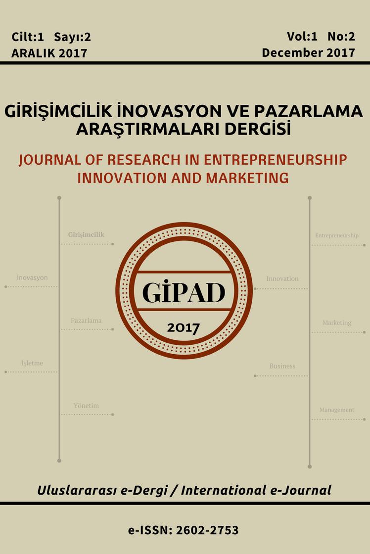 Girişimcilik İnovasyon ve Pazarlama Araştırmaları Dergisi