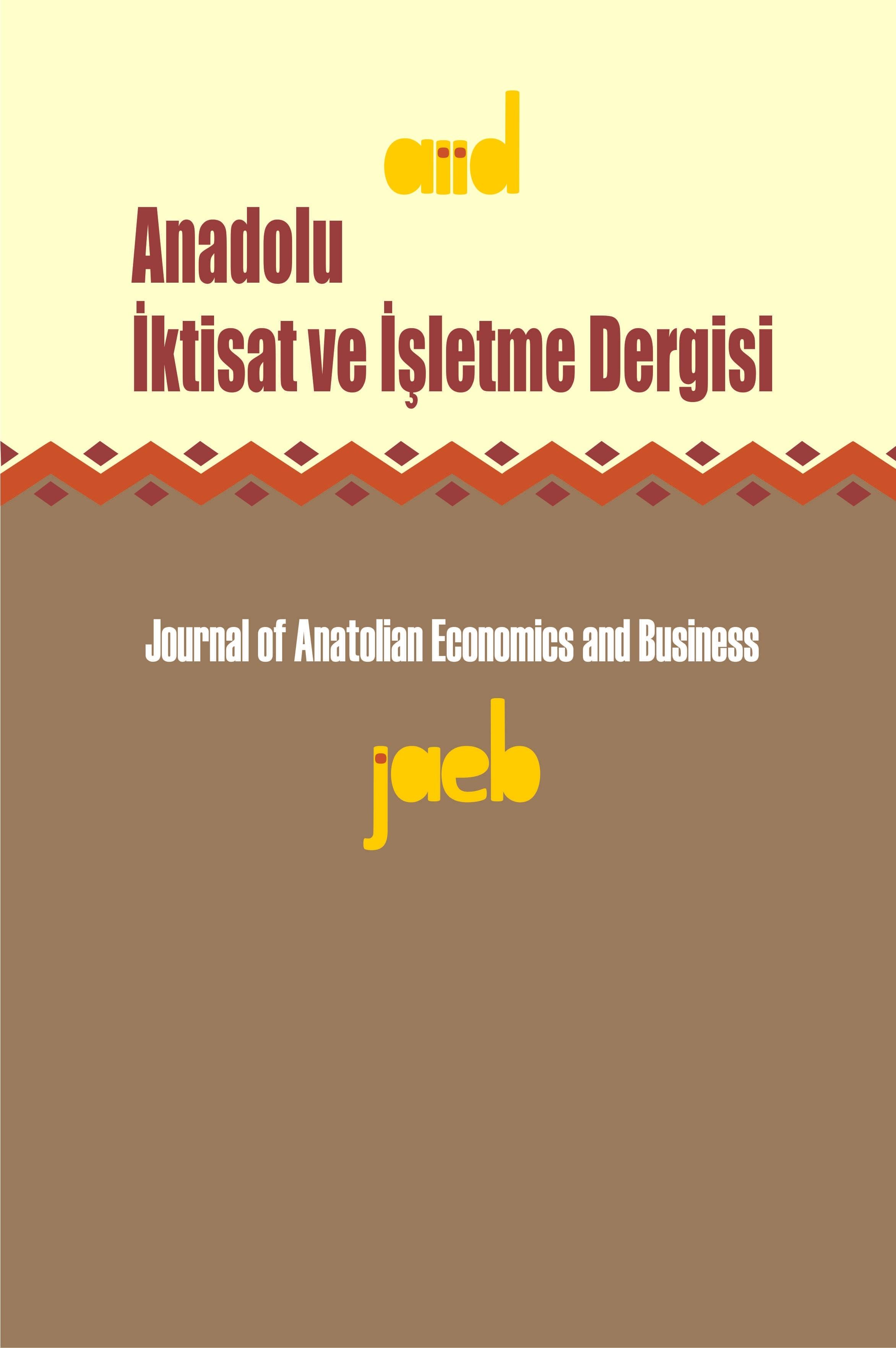 Anadolu İktisat ve İşletme Dergisi