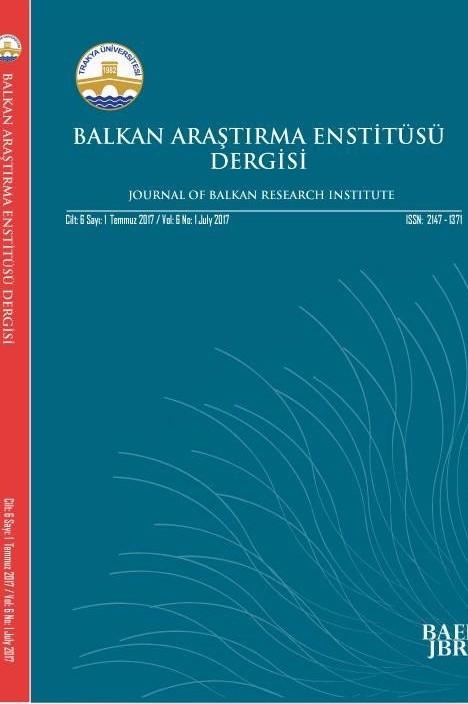 Balkan Araştırma Enstitüsü Dergisi