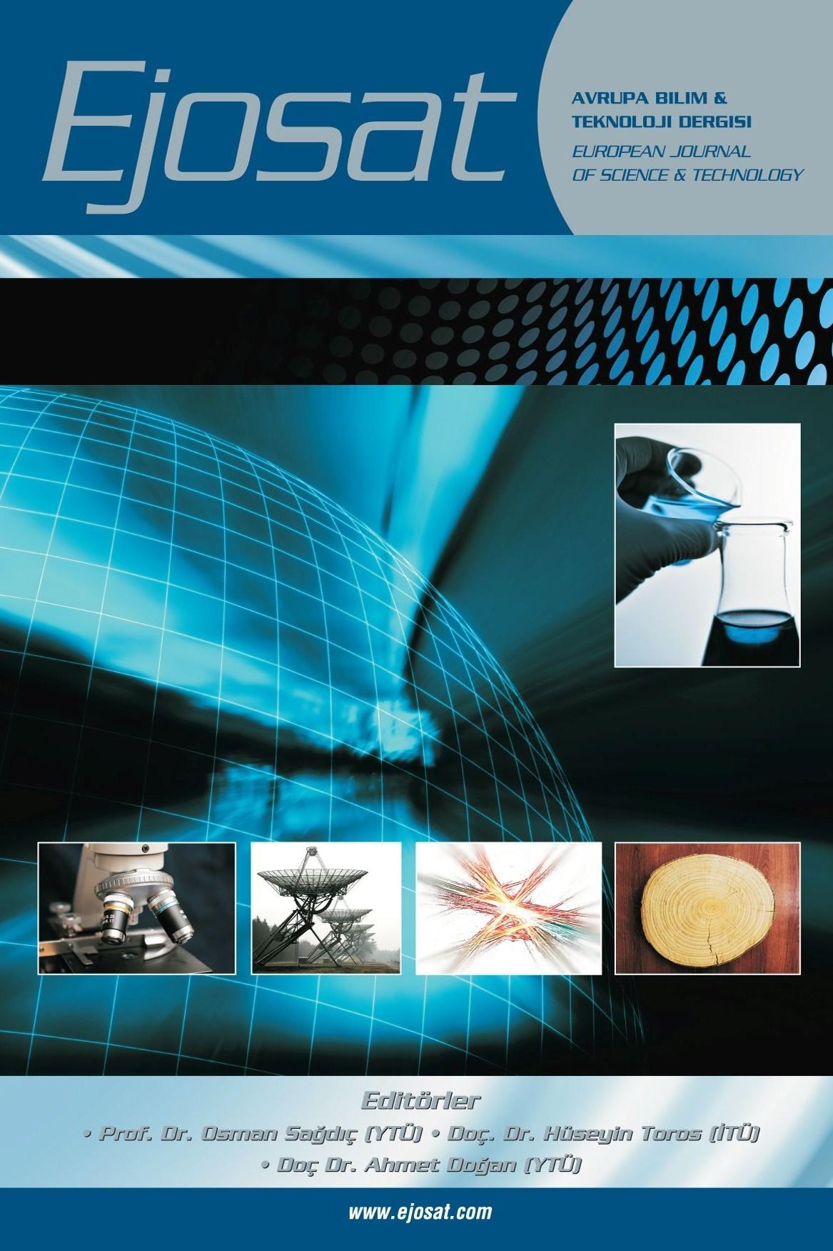 Avrupa Bilim ve Teknoloji Dergisi