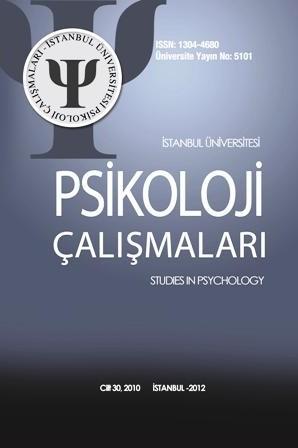 Psikoloji Çalışmaları Dergisi