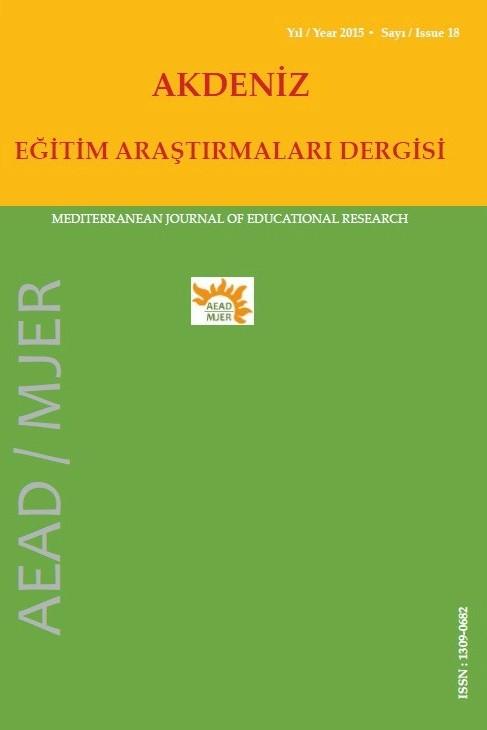 Akdeniz Eğitim Araştırmaları Dergisi
