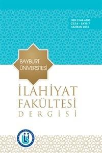 Bayburt Üniversitesi İlahiyat Fakültesi Dergisi
