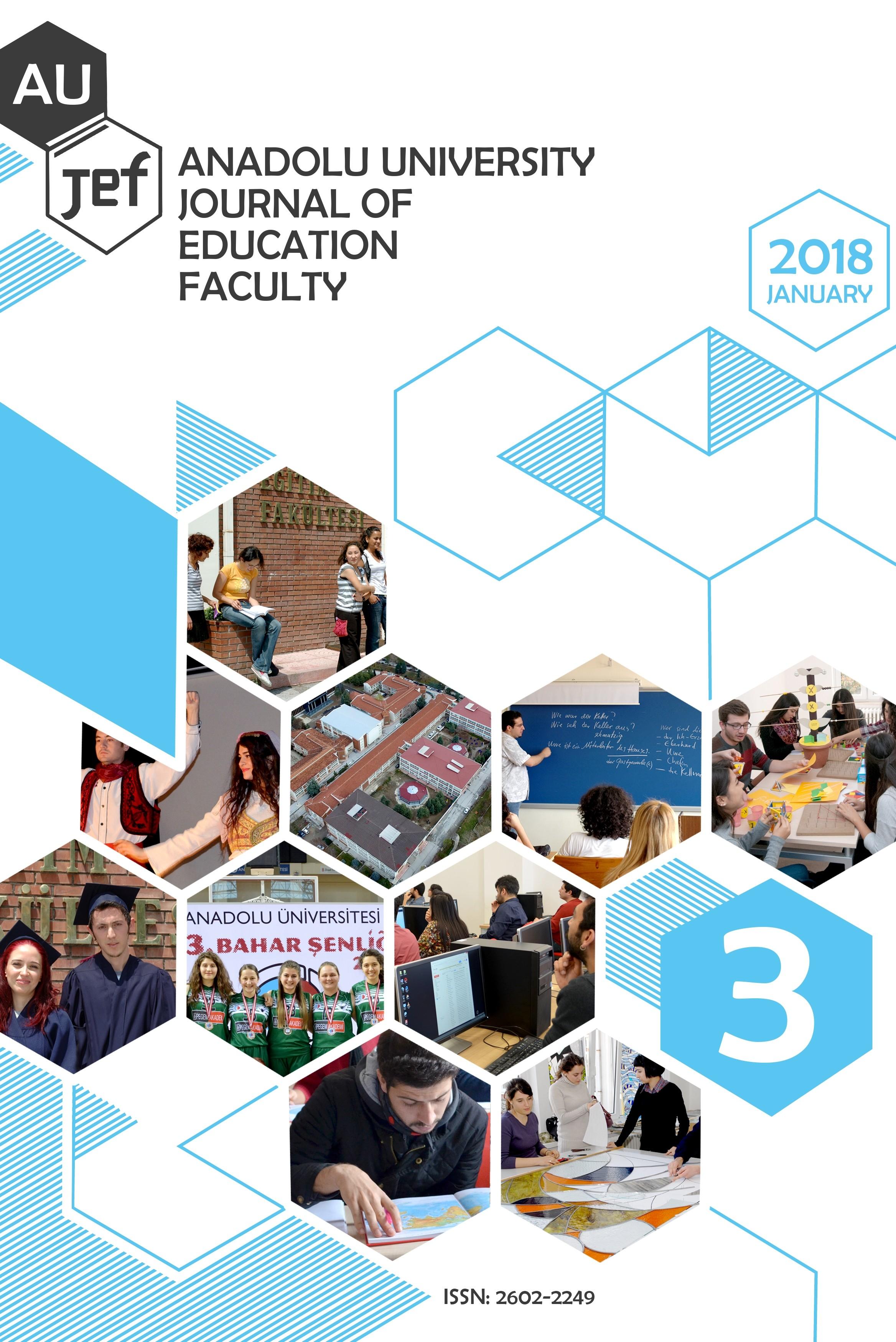 Anadolu University Journal of Education Faculty