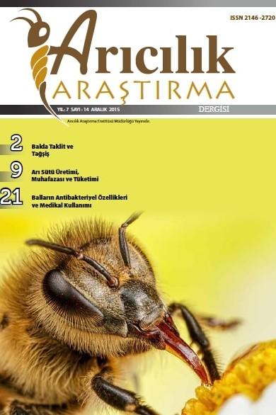 Arıcılık Araştırma Dergisi