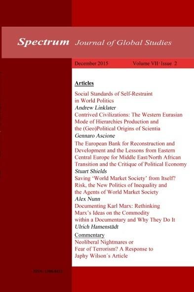 Spectrum: Journal of Global Studies