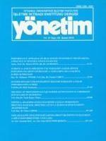 YÖNETİM: İstanbul Üniversitesi İşletme İktisadı Enstitüsü Dergisi