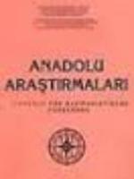 Anadolu Araştırmaları