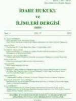 İdare Hukuku ve İlimleri Dergisi