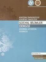 Atatürk Üniversitesi Sosyal Bilimler Dergisi