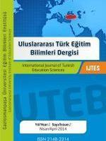 Uluslararası Türk Eğitim Bilimleri Dergisi