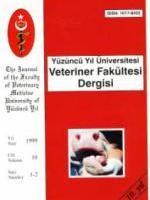 Yüzüncü Yıl Üniversitesi Veteriner Fakültesi Dergisi