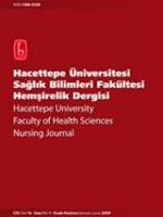 Hacettepe Üniversitesi Hemşirelik Fakültesi Dergisi
