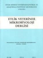 Etlik Veteriner Mikrobiyoloji Dergisi