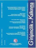 Girişimcilik ve Kalkınma Dergisi