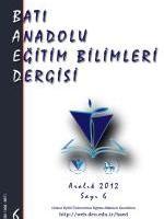 Batı Anadolu Eğitim Bilimleri Dergisi