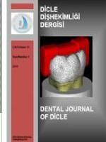 Dicle Diş Hekimliği Dergisi