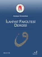 Amasya Üniversitesi İlahiyat Fakültesi Dergisi - AUID